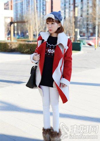资讯生活时尚冬装搭配图片 暖冬更要温暖迷人